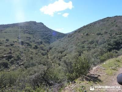 Pico Rocigalgo - Cascada del Chorro [Parque Nacional de Cabañeros] rutas senderistas imagenes de s